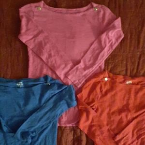 3 J.Crew Painter's tees